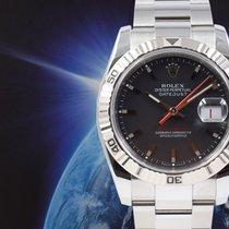Rolex Datejust Turn-O-Graph Stahl 36mm Grau Keine Ziffern Deutschland, München