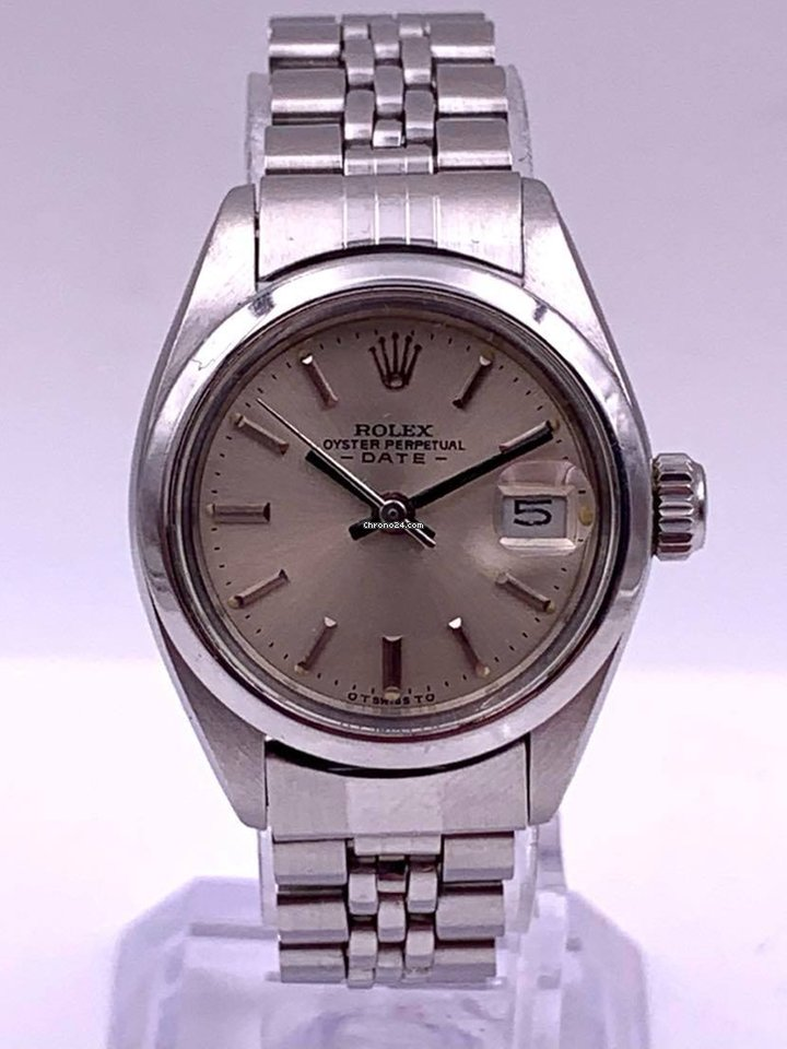 Rolex Oyster Perpetual Lady Date 69160 1975 pre-owned