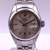 Rolex Oyster Perpetual Lady Date Steel 26mm Silver No numerals United States of America, New York, New York