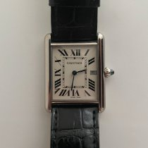 Cartier Tank Louis Cartier White gold 33.7mm White Roman numerals United States of America, New York, New York