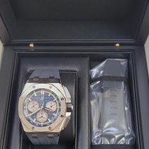 Audemars Piguet Titanium Automatic Blue new Royal Oak Offshore
