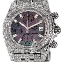 Breitling Chronomat Evolution Steel 44mm Mother of pearl No numerals United States of America, New York, NEW YORK CITY