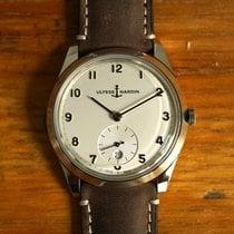 Ulysse Nardin Classico Steel 39mm Silver Arabic numerals United States of America, New York, New York
