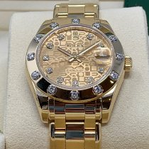 Rolex Pearlmaster Yellow gold 34mm Gold No numerals