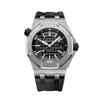 Audemars Piguet Royal Oak Offshore Diver Steel 42mm Black No numerals