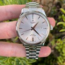 Tudor Style Steel 41mm Silver No numerals United States of America, California, Los Angeles