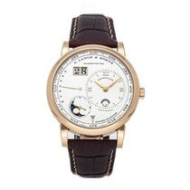 A. Lange & Söhne Lange 1 Rose gold 41.9mm Silver No numerals United States of America, Pennsylvania, Bala Cynwyd