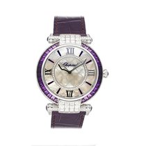 Chopard White gold Automatic White 40mm pre-owned Imperiale