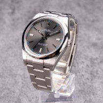 Rolex Oyster Perpetual 39 Steel 39mm Grey No numerals Thailand, Kathu