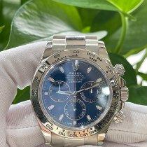 Rolex Daytona White gold 40mm Blue Arabic numerals