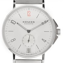 NOMOS Ahoi Datum new Automatic Watch with original box and original papers 551.S2
