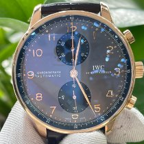 IWC Portuguese Chronograph IW371482 Very good Rose gold 40.9mm Automatic