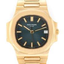Patek Philippe 3800/001 Желтое золото 1990 Nautilus 37mm подержанные