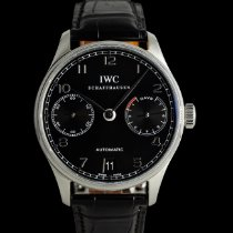 IWC Portuguese Automatic 5001 Very good Steel 42mm Automatic