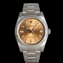 Rolex Oyster Perpetual 36 Acero 36mm Rosa