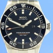 Mido Ocean Star Steel 43.5mm Black