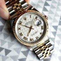 Rolex Datejust Gold/Steel 36mm Silver Roman numerals Singapore, Singapore