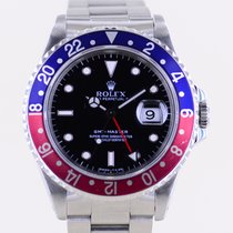 Rolex 16700 Steel 1993 GMT-Master 40mm pre-owned