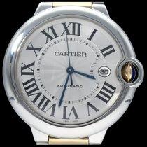 Cartier W69009Z3 Золото/Cталь 2018 Ballon Bleu 42mm 42mm подержанные