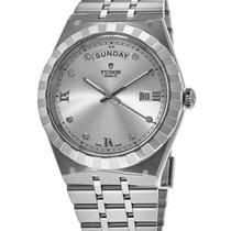 Tudor Royal Steel Silver Roman numerals United States of America, New York, Brooklyn