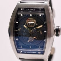 Cvstos pre-owned Automatic 53mm Black Sapphire crystal 10 ATM