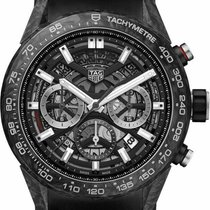 TAG Heuer Carbon Automatic 45mm new Carrera