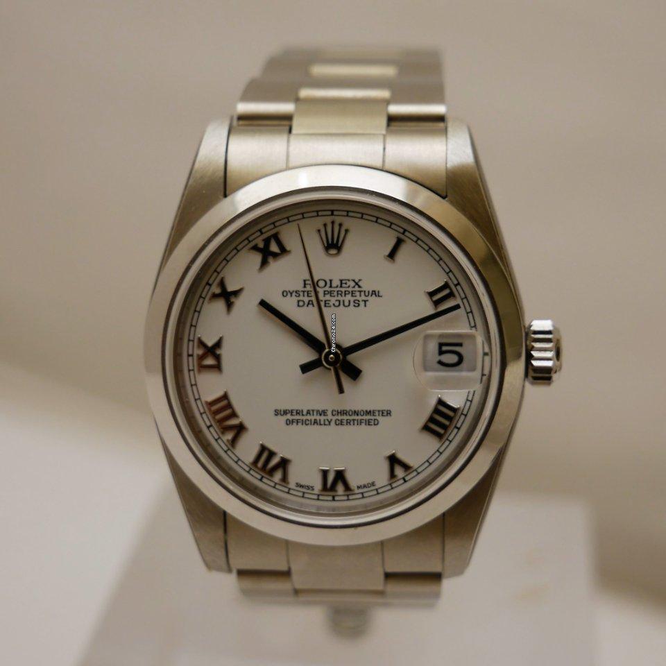 Rolex Datejust 31 78240 2002 nuovo