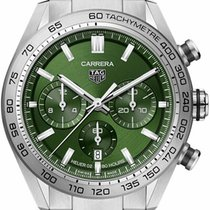 TAG Heuer Carrera Steel 44mm Green No numerals United States of America, California, Los Angeles