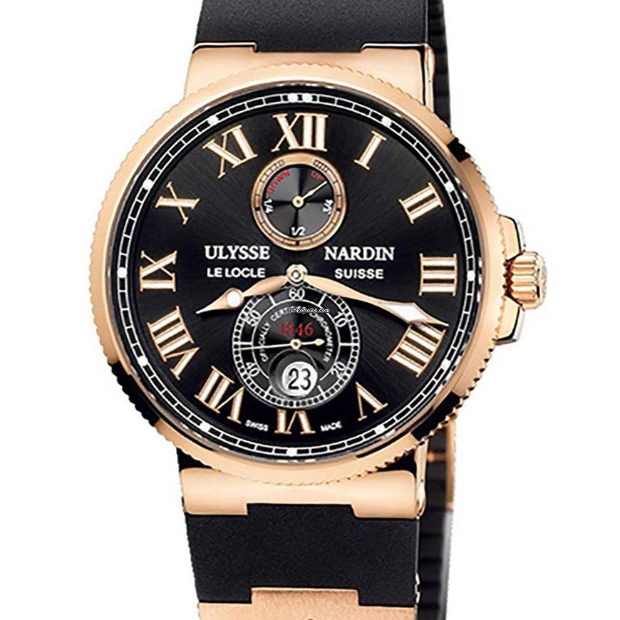 Ulysse Nardin Marine Chronometer 43mm 266-67-3/42 new