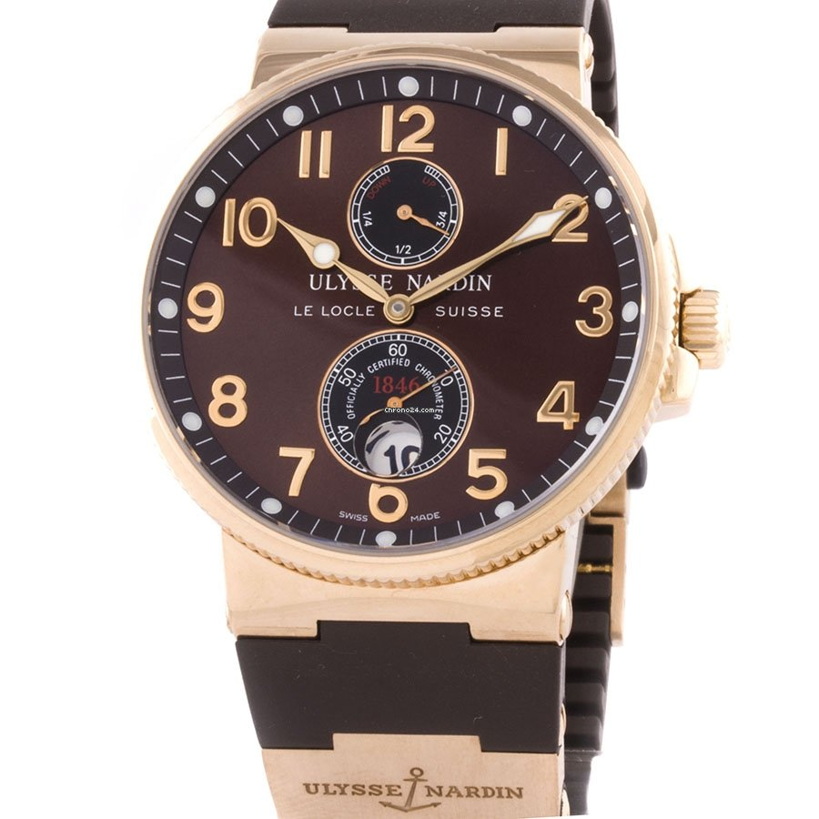 Ulysse Nardin Marine Chronometer 41mm 266-66-3/625 pre-owned