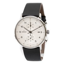 Junghans FORM C Steel 40mm Silver No numerals