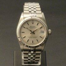 Rolex Lady-Datejust Steel 31mm Silver No numerals