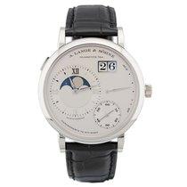A. Lange & Söhne Grand Lange 1 Platinum 41mm Silver Roman numerals