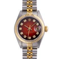 Rolex Lady-Datejust 69173G Gut Stahl 26mm Automatik