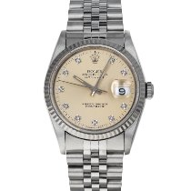 Rolex Datejust Steel 36mm Silver No numerals United States of America, Maryland, Baltimore, MD