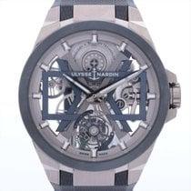 율리세 나르딘 티타늄 48mm 자동 1723-400/03 중고시계