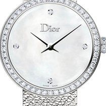 Dior Steel 25mm Quartz CD047111M001 new United States of America, Texas, Houston