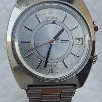 Omega Steel Automatic Grey No numerals 40mm pre-owned Memomatic