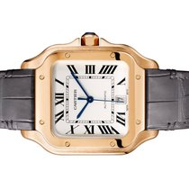 Cartier Santos (submodel) WGSA0019 Very good Rose gold 39.8mm Automatic