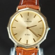 Concord Yellow gold 33mm Quartz pre-owned United States of America, New Jersey, Atlantic city