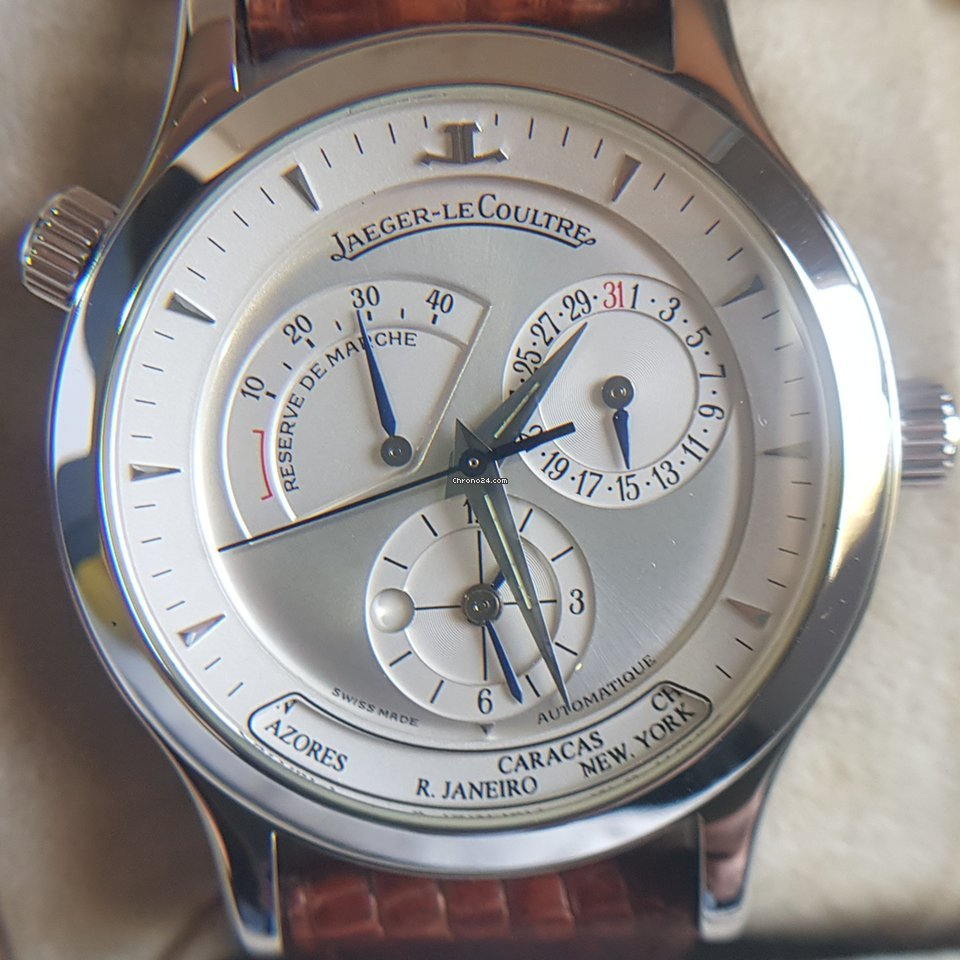 Jaeger-LeCoultre Master Geographic 142.8.92 1998 new