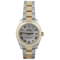 Rolex Lady-Datejust Gold/Steel 31mm Mother of pearl Roman numerals United States of America, California, Fullerton