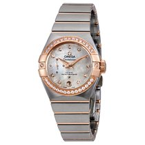 Omega Constellation Petite Seconde Gold/Steel 27mm Mother of pearl