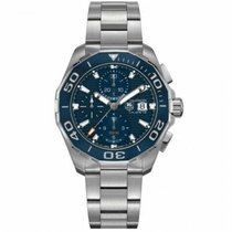 TAG Heuer Steel 43mm Automatic CAY211B.BA0927 new