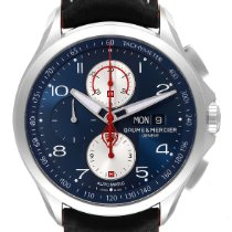 Baume & Mercier new Automatic 44mm Steel Sapphire crystal