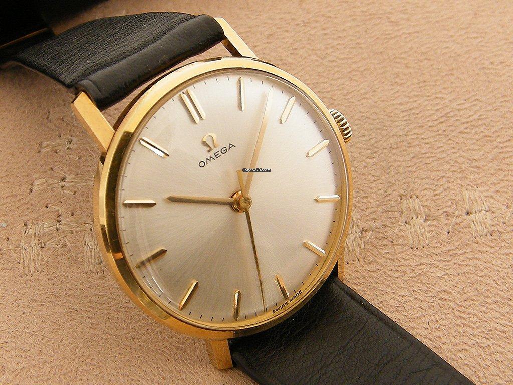 Omega Omega Cal 286 18K Gold 1962 tweedehands