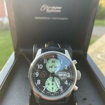 Junkers 6220-2 Very good Steel 42mm Automatic Finland, Paimio
