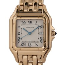 Cartier Panthère Yellow gold 29mm Silver Roman numerals United States of America, Texas, Austin