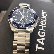 TAG Heuer Aquaracer 300M Сталь 43mm Синий Без цифр Россия, Izhevsk