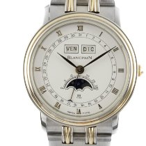 Blancpain Gold/Steel 33.5mm Automatic Villeret pre-owned